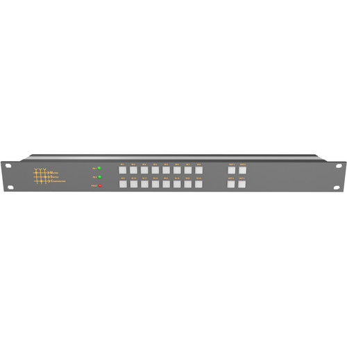 Matrix Switch 16 x 4 3G-SDI Video Routing Switcher with Button Panel