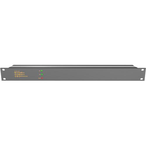 Matrix Switch 4 x 4 3G-SDI Video Routing Switcher with Status Panel (1 RU)
