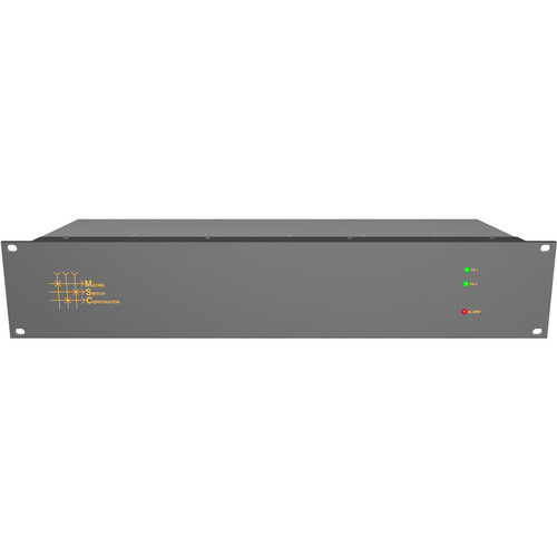 Matrix Switch 32 Input/Output 3G-SDI Modular Router with Status Panel