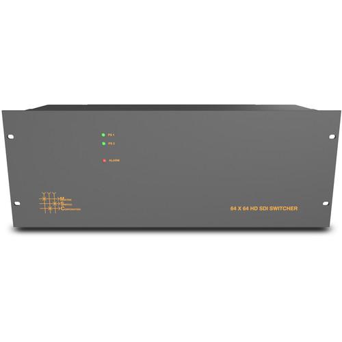 Matrix Switch 64 Input/Output 3G-SDI Modular Router