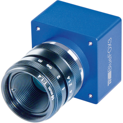 MATRIX VISION BlueFox3 USB3 Vision Camera (3.2MP, 119 Hz, Monochrome, 12-Pin I/O)
