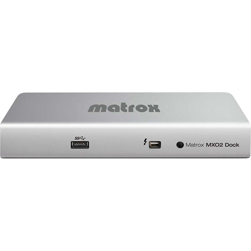Matrox MX02 Dock with Thunderbolt