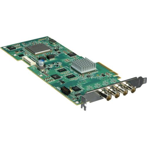 Matrox VS4 Quad HD Capture Card for Select Software (vs4Recorder, vMix)