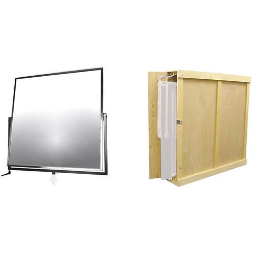 "Matthews 42"" Mirrored Reflector with Storage Box Kit"