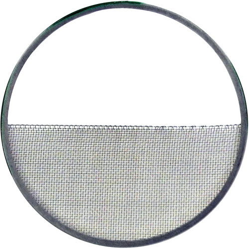 """Matthews 6.62"""" Half Single Stainless Wire Diffusion (Green with Silver)"""