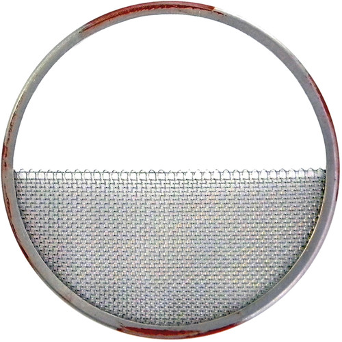 "Matthews Half Double Stainless Steel Wire Diffusion (23-1/2"", Red/Silver)"