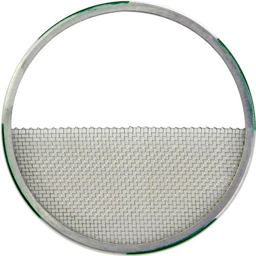"Matthews 4.25"" Half Single Stainless Wire Diffusion (Green with Silver)"