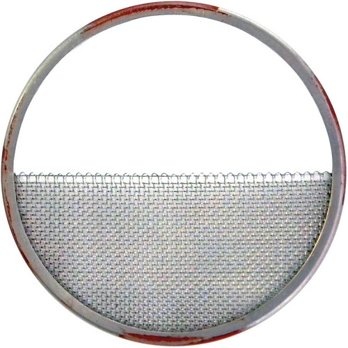 "Matthews 4.25"" Half Double Wire Stainless Diffusion (Red with Silver)"