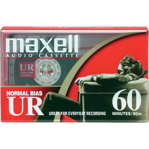 Maxell Normal Bias Ultrium Audio Cassette Tape (60 Minutes)