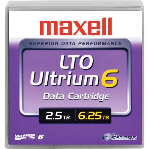 Maxell LTO Ultrium 6 Tape Cartridge (Black)