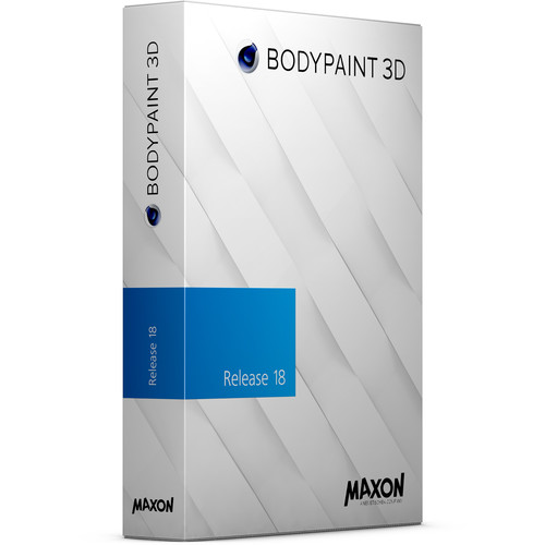Maxon BodyPaint 3D R18 (Upgrade from BodyPaint R16, Download)