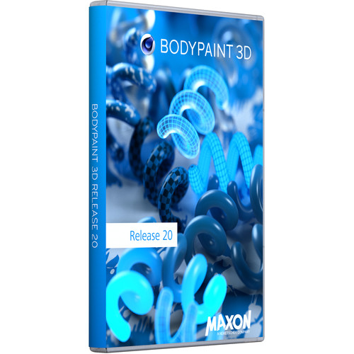 Maxon BodyPaint 3D R20 (Upgrade from BodyPaint R17, Download)