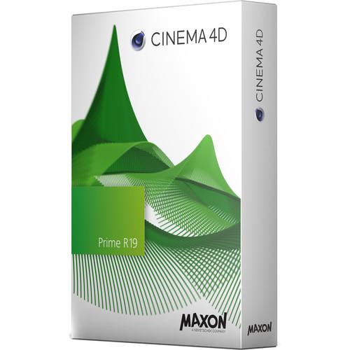 Maxon Cinema 4D Prime R19 (Upgrade from Prime R16, Download)