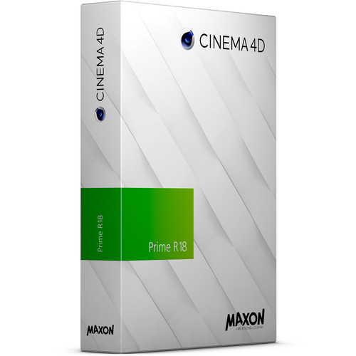 Maxon Cinema 4D Prime R18 Upgrade from Prime R17 (Download)