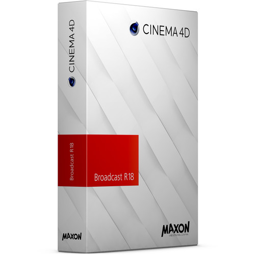 Maxon Cinema 4D Broadcast R18 Upgrade from Broadcast R15 (Download)