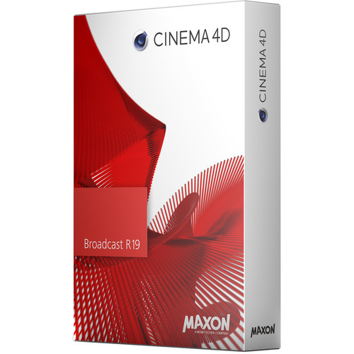 Maxon Cinema 4D Broadcast R19 (Upgrade from Broadcast R18, Download)