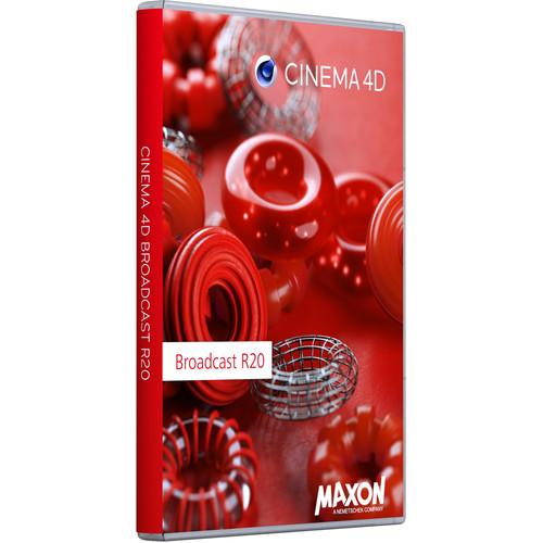 Maxon Cinema 4D Broadcast R20 (Upgrade from Prime R19, Download)
