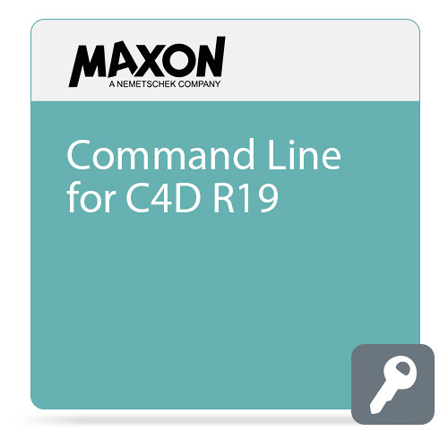 Maxon Command Line for C4D R19 (Download)
