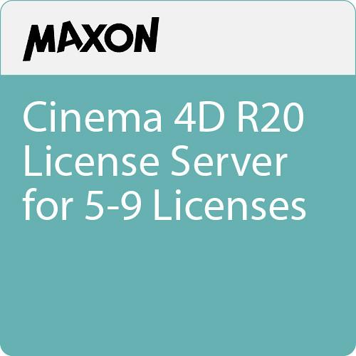 Maxon Cinema 4D R20 License Server for 5-9 Licenses (Download)