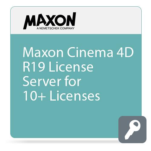 Maxon Cinema 4D R19 License Server (10+ Licenses, Download)