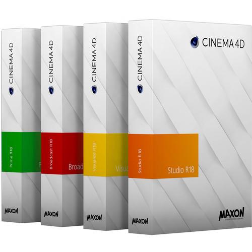 Maxon Cinema 4D R18 License Server for 1-4 Licenses (Download)