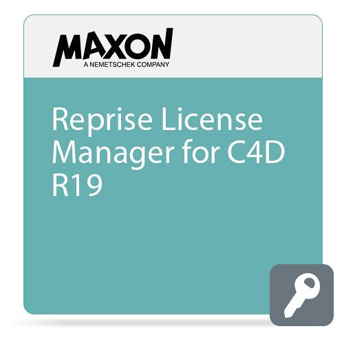 Maxon Reprise License Manager for C4D R19 (Download)