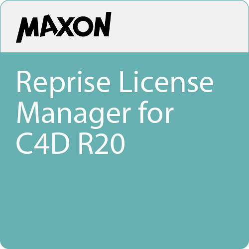 Maxon Reprise License Manager for C4D R20 (Download)