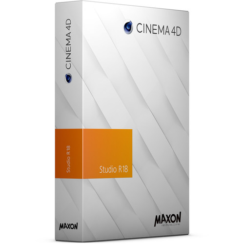 Maxon Cinema 4D Studio R18 Upgrade from Broadcast R17 (Download)