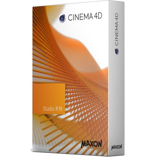 Maxon Cinema 4D Studio R19 (Upgrade from Broadcast R17, Download)