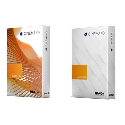 Maxon Maxon C4D Studio R19 & R18 MSA Prime Pack (Download)