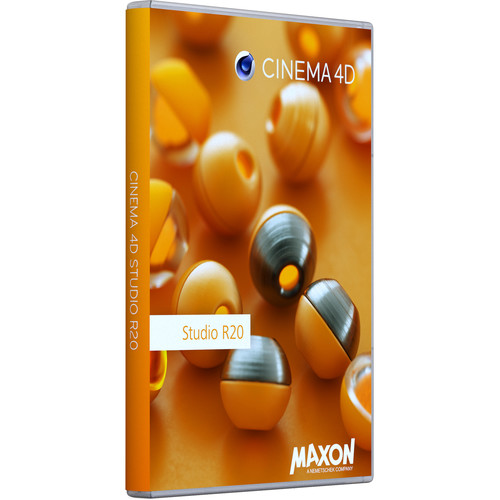 Maxon Cinema 4D Studio R20 (Upgrade from Visualize R18, Download)
