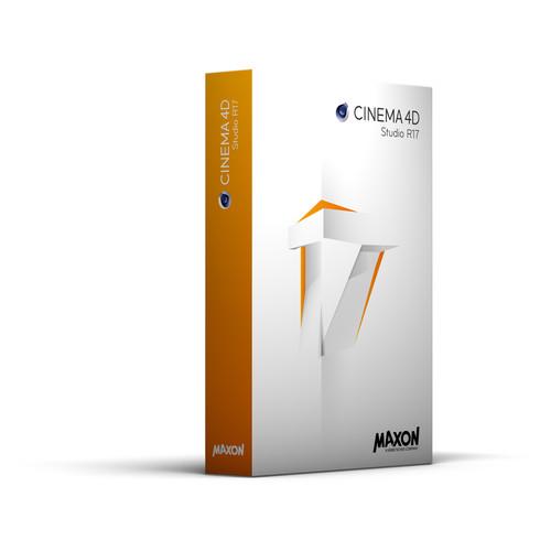 Maxon CINEMA 4D Studio R17 - Multi-License Discount (Download)