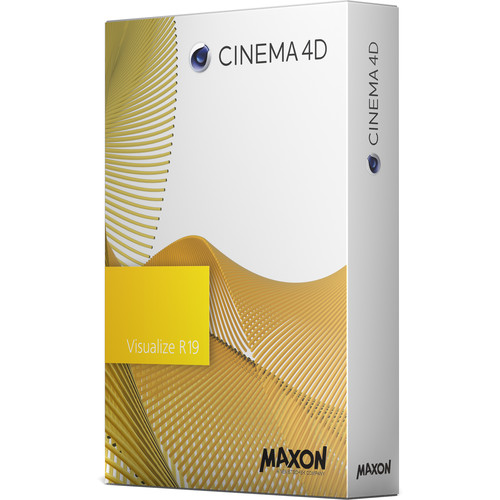Maxon Cinema 4D Visualize R19 (Upgrade from Visualize R16, Download)
