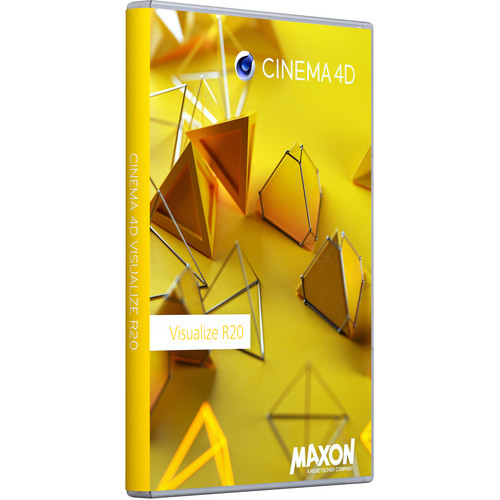 Maxon Cinema 4D Visualize R20 (Upgrade from Visualize R18, Download)