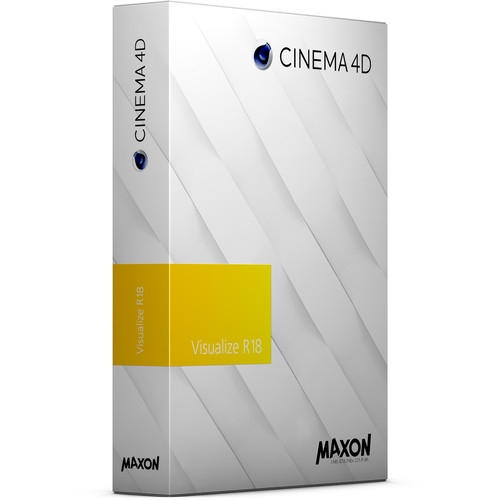 Maxon Cinema 4D Visualize R18 Competitive Discount (Download)