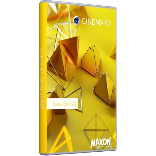 Maxon Cinema 4D Visualize R20 (Multi-License Discount, Download)