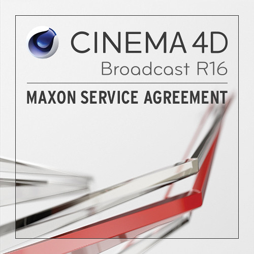 maxon cinema 4d broadcast 1 year service agreement msa be b h. Black Bedroom Furniture Sets. Home Design Ideas