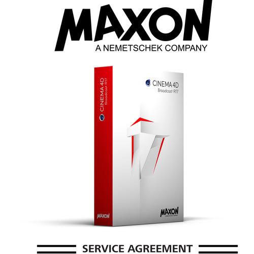 Maxon CINEMA 4D Broadcast MSA - Annual Maintenance (Download)