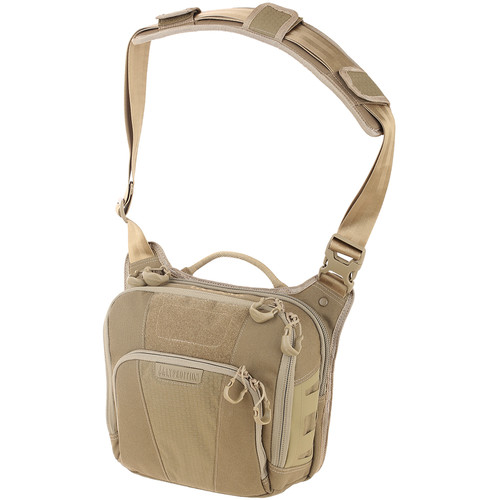 Maxpedition Lochspyr Crossbody Shoulder Bag 5.5L (Tan)