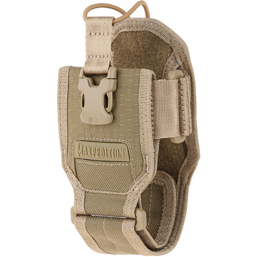 Maxpedition RDP Radio Pouch Adjustable Pouch for Radios (Tan)