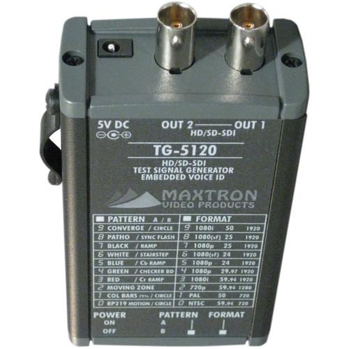 Maxtron TG-5120 Multi-Format SD/HD-SDI Pattern Generator