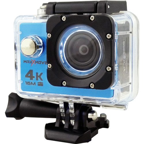 MaxxMove Rize H4 4K Action Camera (Blue)