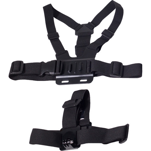 MaxxMove Chest Body Strap & Head Strap for GoPro
