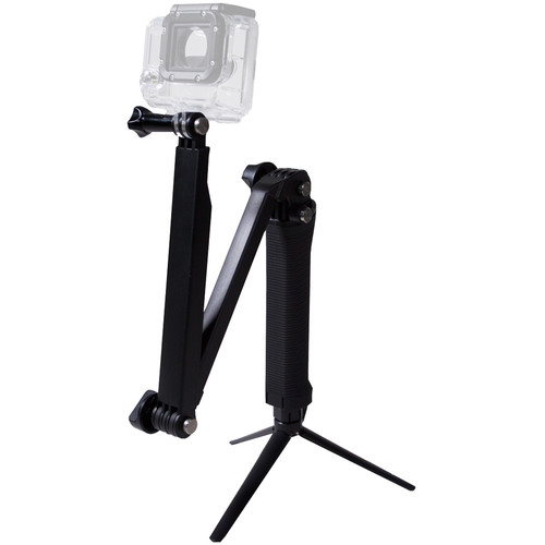 MaxxMove Three-Way Adjustable Tripod for GoPro HERO