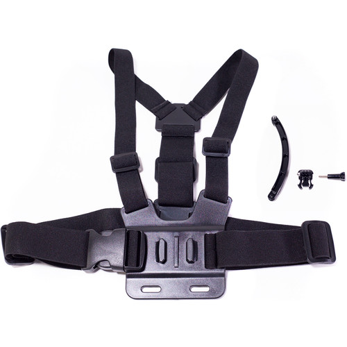 MaxxMove Chest Body Strap with Tripod Mount for GoPro HERO