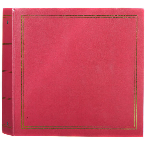 MBI Library Collection Photo Album (Burgundy)