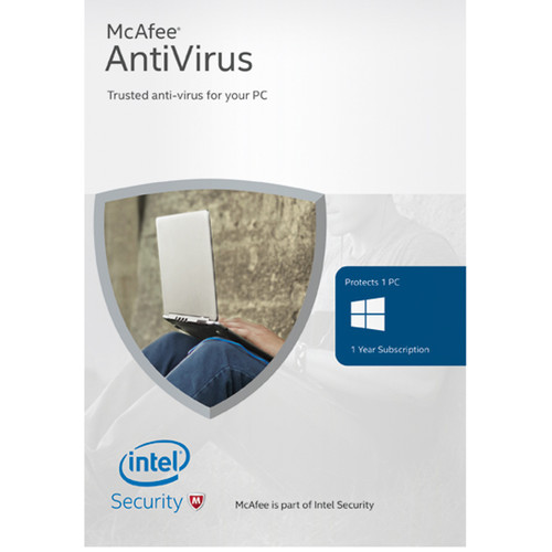 McAfee AntiVirus Basic 2016 (1 Device, 1-Year Subscription, Download)