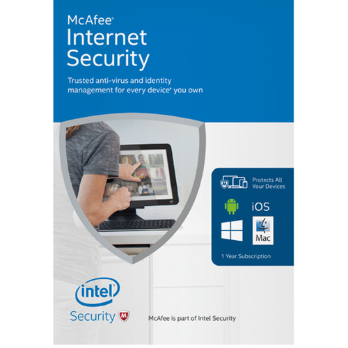 McAfee Internet Security 2016 (1-Year Subscription, Download)