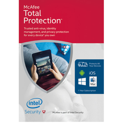 McAfee Total Protection 2016 (1-Year Subscription, Download)