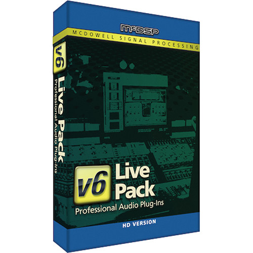 McDSP Live Pack HD v6 (Download)